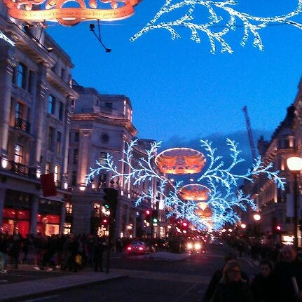 Photo taken at Oxford Street by Javier G. on 1/1/2013