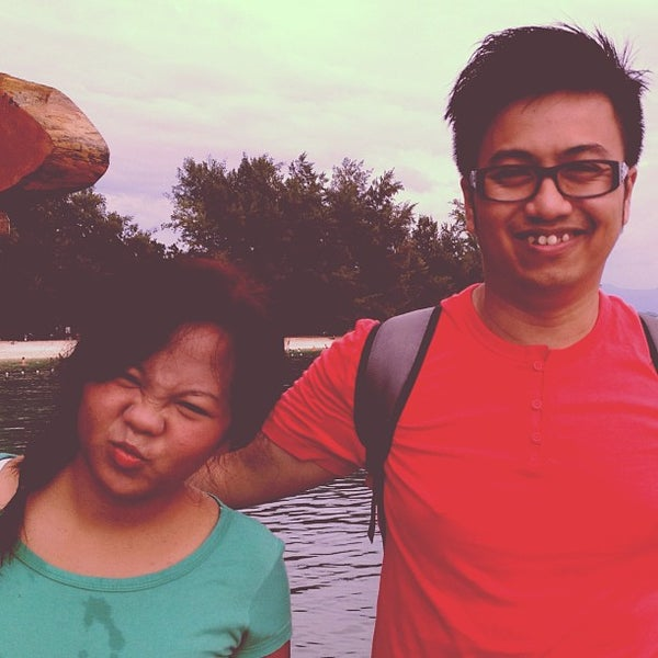 Photo taken at Manukan Island Jetty by Azri M. on 12/20/2012