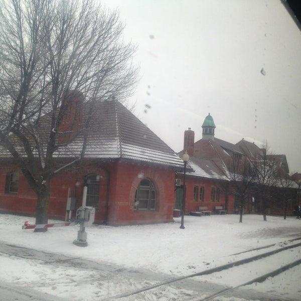 Photo taken at Kalamazoo Transportation Center - Amtrak (KAL) by Amanda B. on 12/29/2012