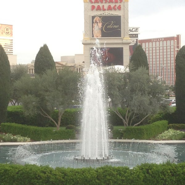 Photo taken at Caesars Palace Gardens by HyunChang K. on 3/15/2013