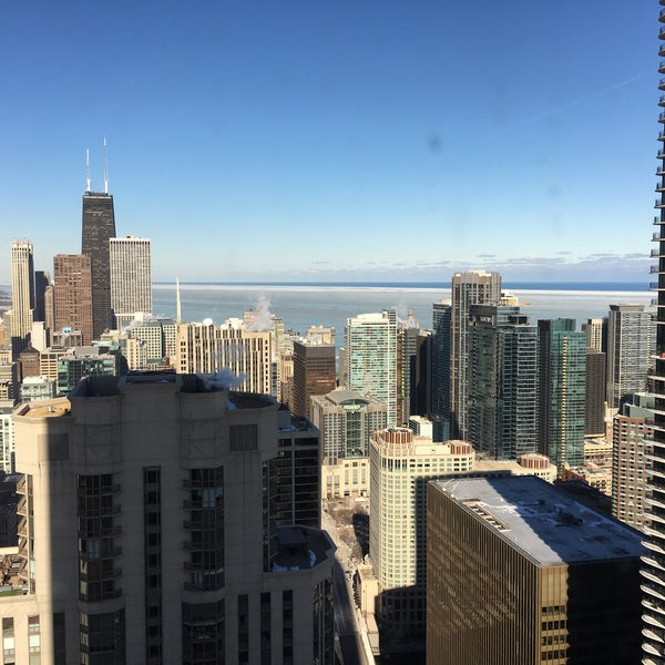 Photo taken at Aon Center by Dmytro K. on 2/11/2016