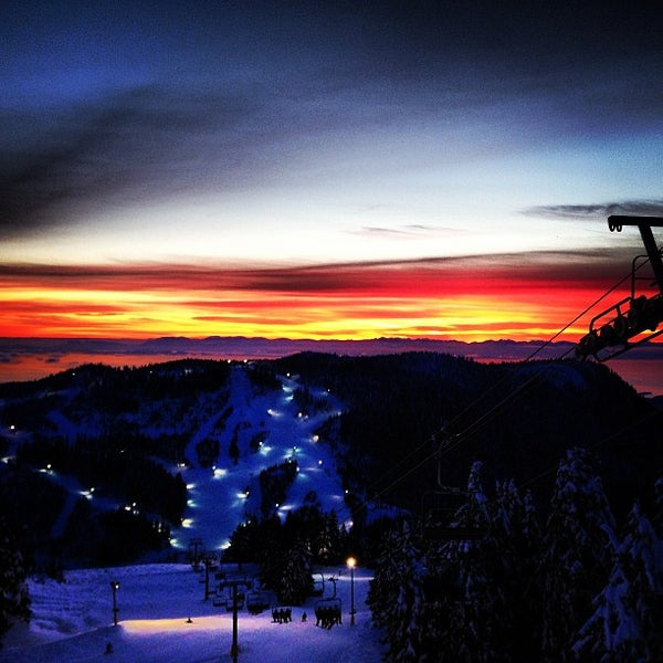 Photo taken at Cypress Mountain Ski Area by Crescencia G. on 1/13/2013