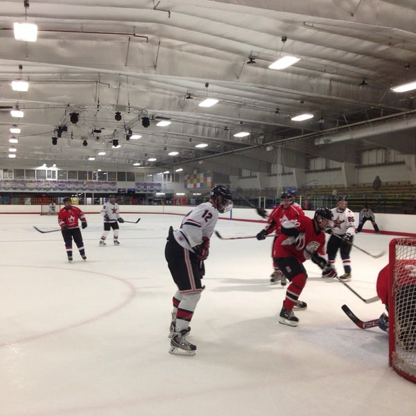 Photo taken at San Diego Ice Arena by Andy M. on 7/17/2014