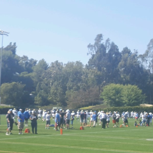 Photo taken at UCLA Intramural Field by Teresa S. on 8/13/2016