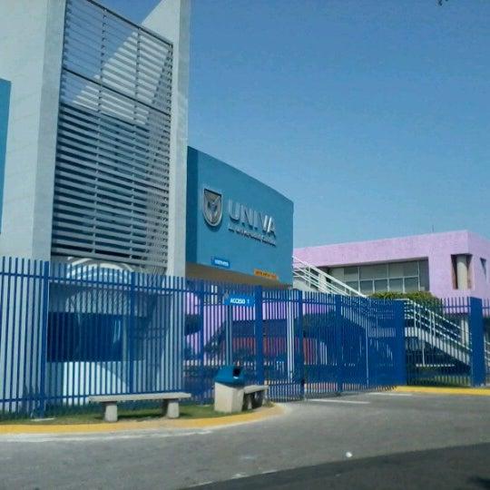 Photo taken at Universidad del Valle de Atemajac (UNIVA) by Javier B. on 10/28/2012