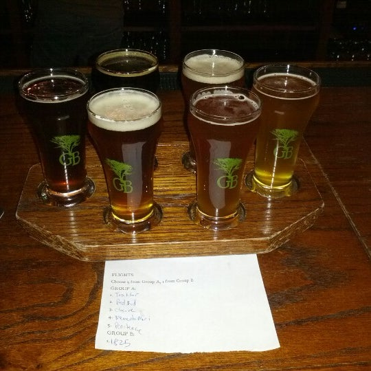 Photo taken at Greenbush Brewing Company by Adam K. on 11/17/2012