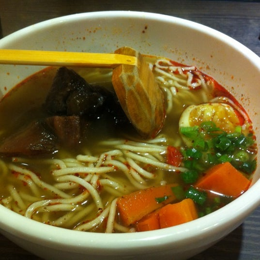 Photo taken at 董家台灣牛肉麵 Dong's Beef Noodles by JK on 11/29/2012