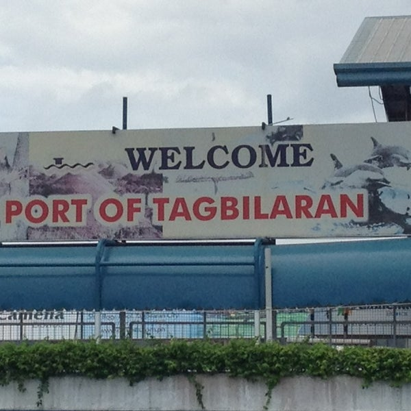 Photo taken at Tagbilaran City Bohol Port by Chad D. on 3/6/2013