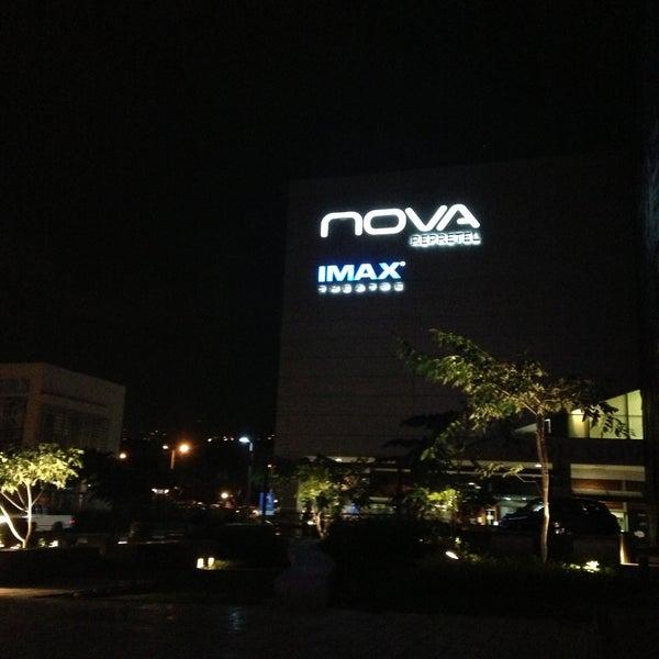 Photo taken at Nova Cinemas by César H. on 5/9/2013