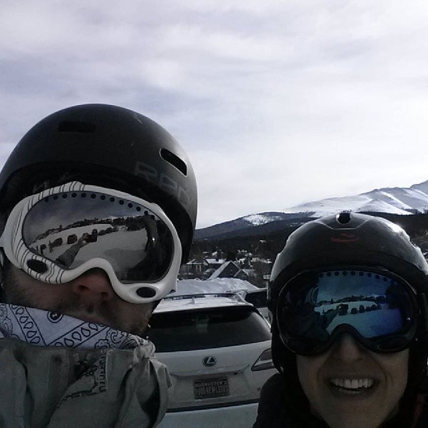 Photo taken at Breck Connect Gondola by Keir H. on 2/12/2014