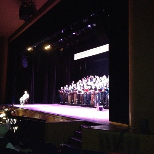 Photo taken at Lisner Auditorium by Eric P. on 2/17/2012