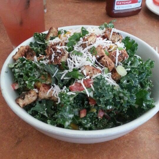 Caribbean jerk kale salad is outstanding. But really. It is.