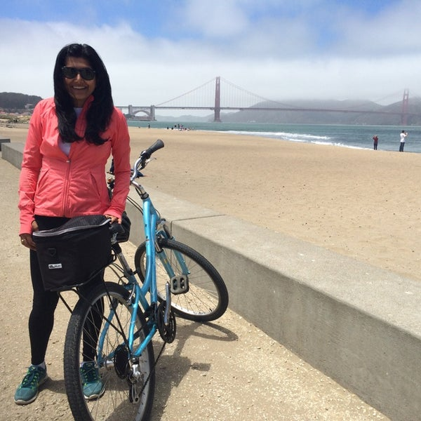 Photo taken at Crissy Field by Sabina B. on 7/3/2014