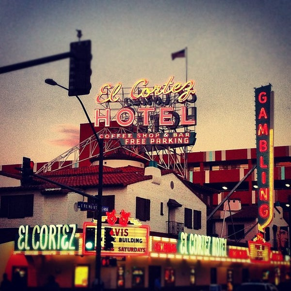 Photo taken at El Cortez Hotel & Casino by Giuseppe M. on 10/22/2012