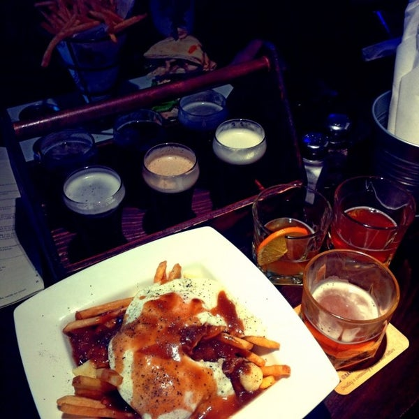 Photo taken at Banff Avenue Brewing Co. by Miguel C. on 1/1/2015