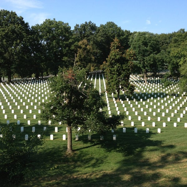 Photo taken at Arlington National Cemetery by Kathleen T. on 8/20/2013