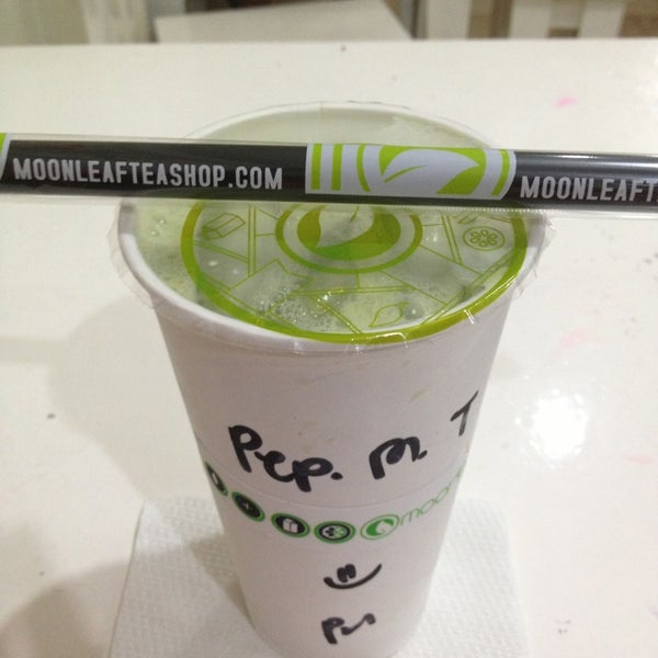 Photo taken at Moonleaf Tea Shop by Nica Katrina on 2/1/2013