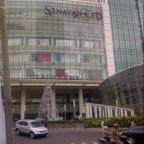 Photo taken at Senayan City by Bintang L. on 12/8/2012