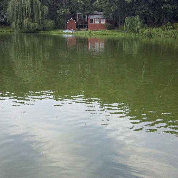 Photo taken at Woodhaven Lakes by creeping m. on 9/1/2013