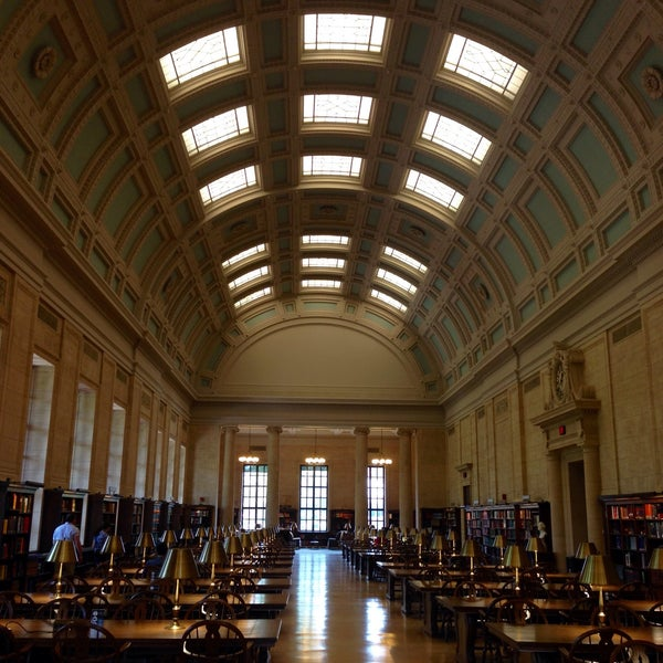 Photo taken at Widener Library by JIMENA F. on 5/28/2016