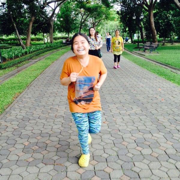 Photo taken at สวนสมเด็จพระนางเจ้าสิริกิติ์ฯ (Queen Sirikit Park) by monday O. on 8/1/2015