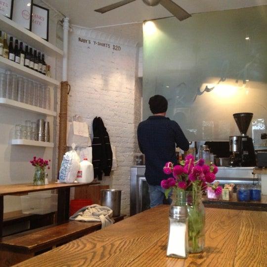 Photo taken at Ruby's Café by Daniel W. on 10/15/2012
