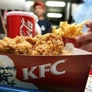 Photo taken at KFC by r e z a on 9/29/2012