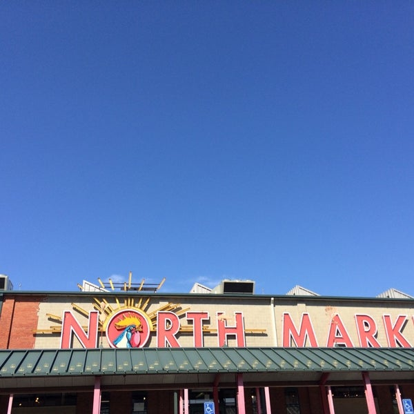 Photo taken at North Market by Anil T. on 4/10/2014