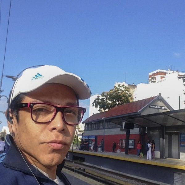 Photo taken at Estación Caballito [Línea Sarmiento] by MiKe R. on 3/13/2016