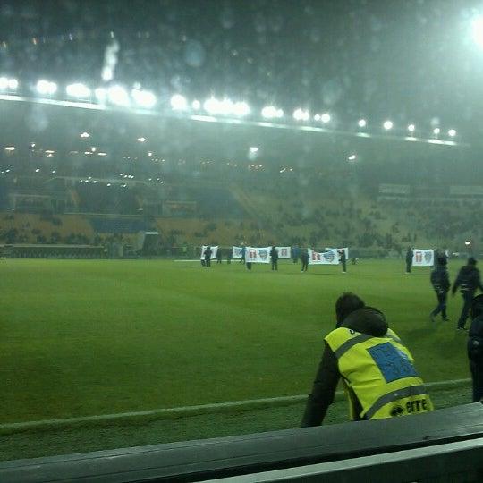 Photo taken at Stadio Ennio Tardini by Nicola S. on 11/26/2012