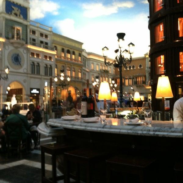 Photo taken at Otto Las Vegas by Karen R. on 2/22/2013