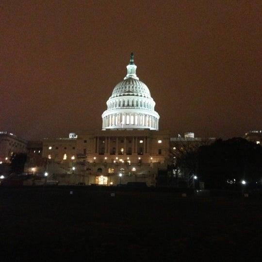 Photo taken at Rotunda of the U.S. Capitol by Jon B. on 12/8/2012