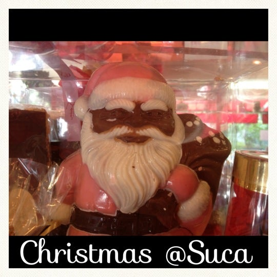 Photo taken at Suca Chocolate Lounge & Coffee by Ignacio K. on 12/1/2012