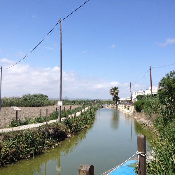 Photo taken at La Albufera by Isabel P. on 5/12/2013