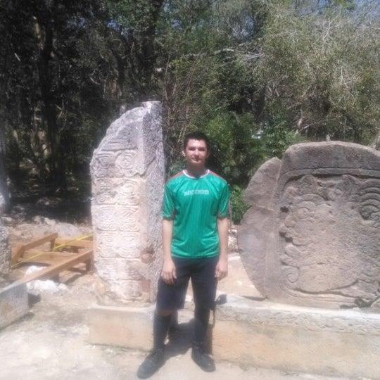 Photo taken at Grutas de Loltún by Hector C. on 3/2/2014