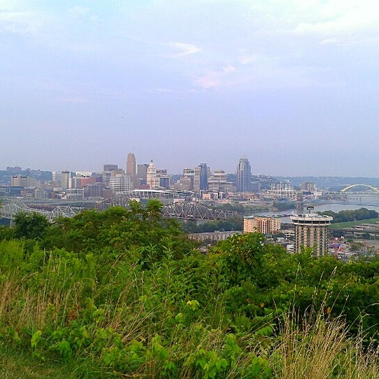 Photo taken at Devou Overlook by Sarah on 8/22/2013