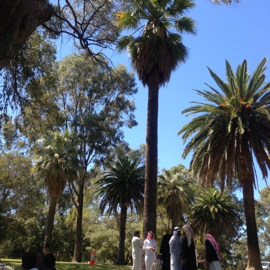 Photo taken at Kings Park and Botanic Garden by Mohammed A. on 10/26/2012