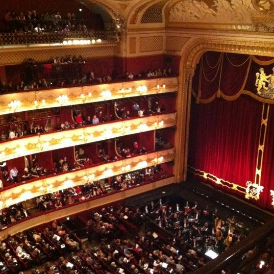 Photo taken at Royal Opera House by Iria P. on 12/13/2012