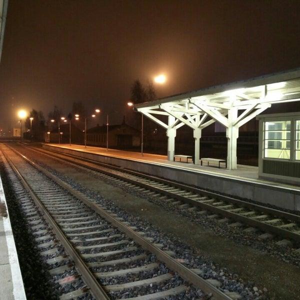 Photo taken at Tartu Raudteejaam by Jüri K. on 12/9/2015
