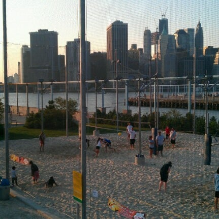 Photo taken at Brooklyn Bridge Park - Pier 6 by Ben S. on 8/22/2012