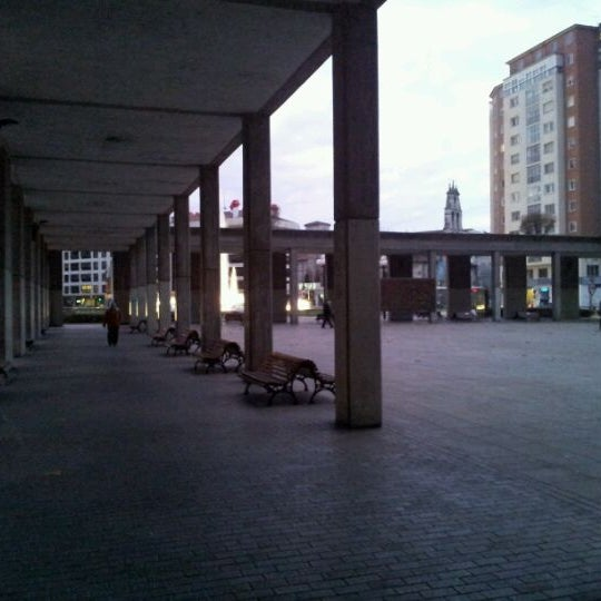 Photo taken at Plaza De España by Gregorio G. on 11/20/2011