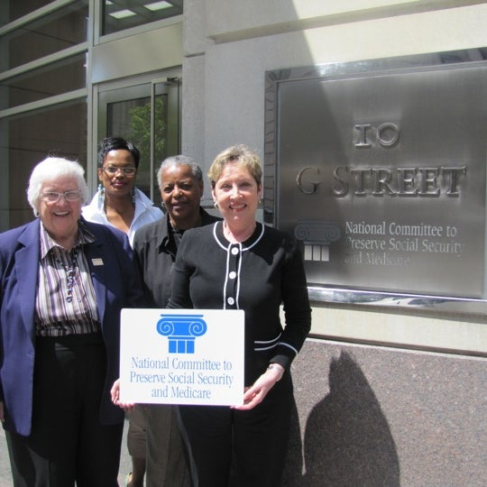 Photo taken at National Committee to Preserve Social Security and Medicare by @NCPSSM on 5/9/2011