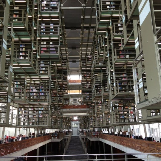 Photo taken at Biblioteca Vasconcelos by David D. on 6/6/2012