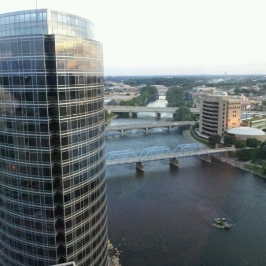 Photo taken at Amway Grand Plaza Hotel by Raoul N. on 6/18/2012