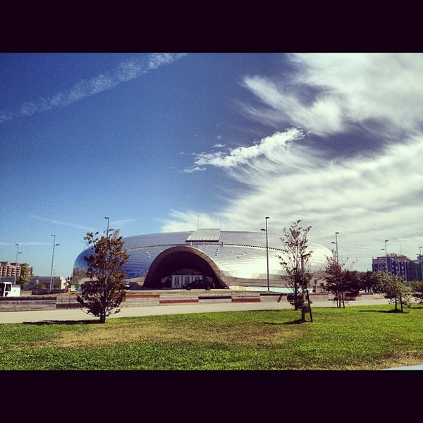 Photo taken at Palacio de los Deportes by Antonio d. on 8/16/2012