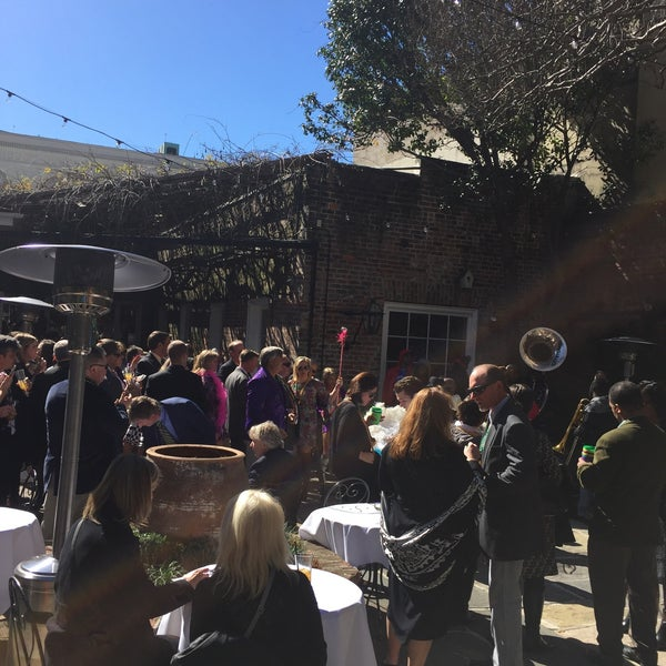 Photo taken at Broussard's Restaurant & Courtyard by Sarah T. on 2/5/2016