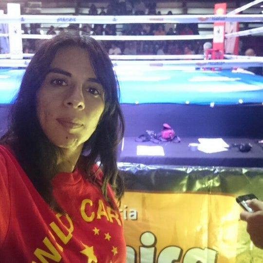 Photo taken at Arena Adolfo Lopez Mateos by Gaby G. on 4/18/2015