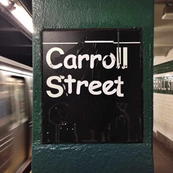 Photo taken at MTA Subway - Carroll St (F/G) by Sevan G. on 12/1/2013