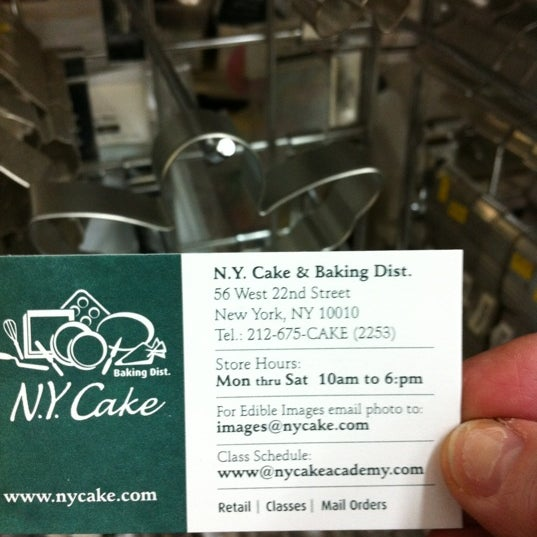 Photo taken at NY Cake & Baking by Joyce S. on 11/19/2012