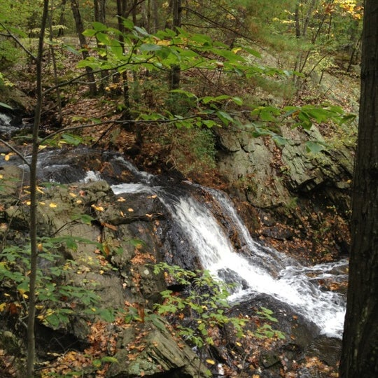 Photo taken at Jewell Falls by Stephanie B. on 10/8/2012